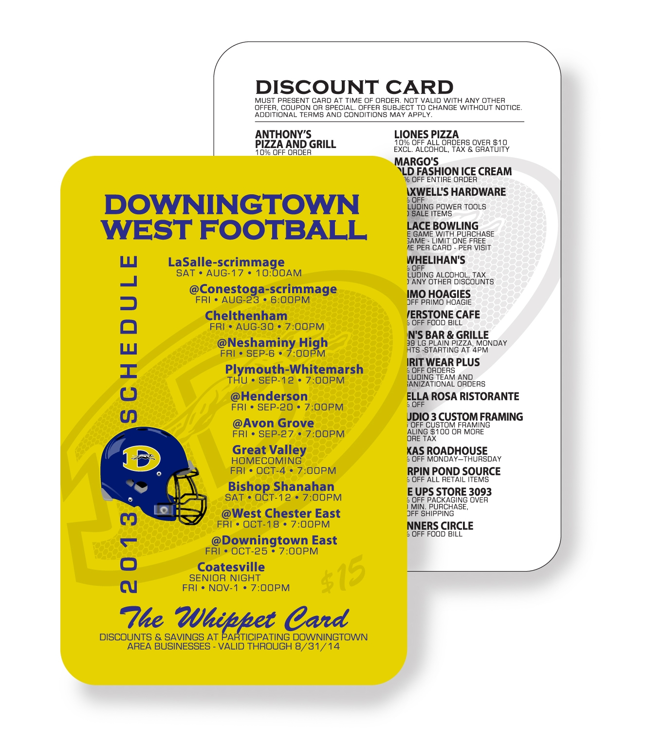 Whippet Discount Card